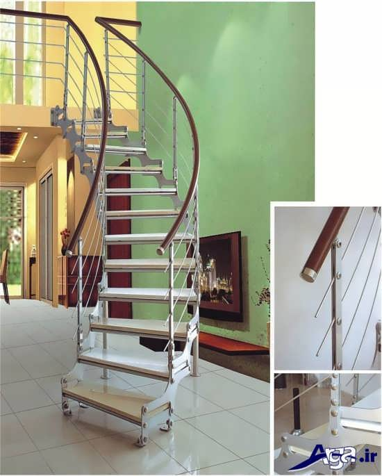 راه پله داخلی ساختمان