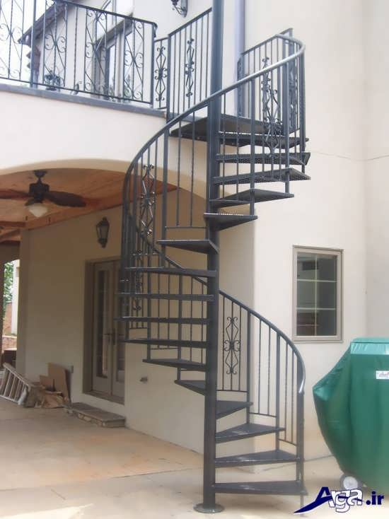 انواع مدل های شیک و تفاوت راه پله ساختمان با طراحی زیبا و متفاوت