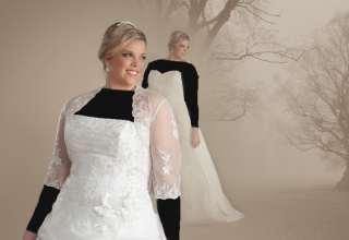 مدل لباس عروس برای افراد چاق با طرح های زیبا و شیک