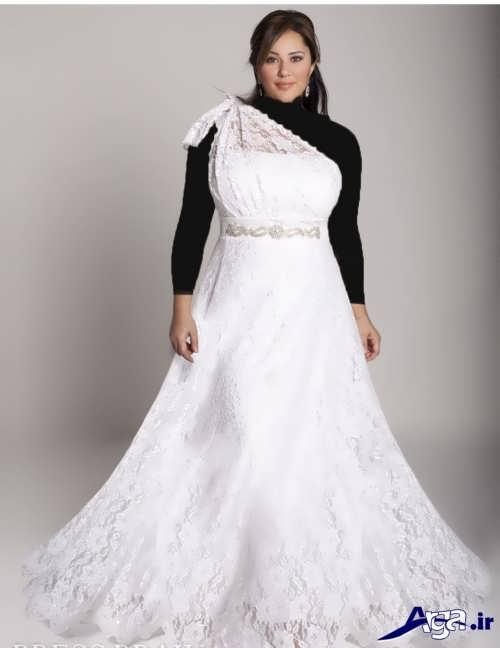 مدل لباس عروس برای افراد چاق با طرح های متنوع