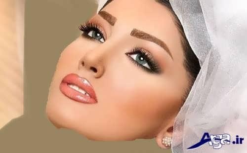 مدل سایه ابرو عروس