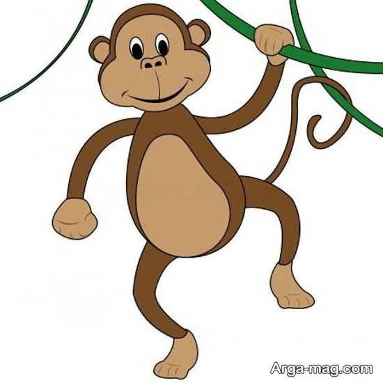 رنگ آمیزی بی نظیر میمون
