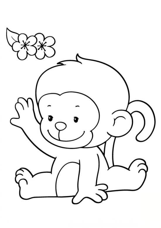 نقاشی فانتزی میمون