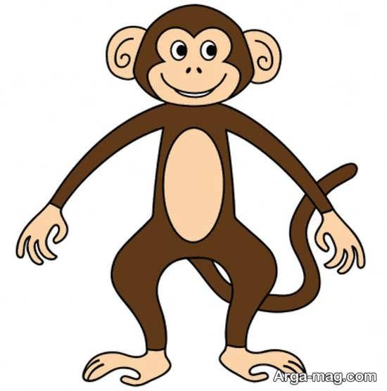رنگ آمیزی باحال میمون