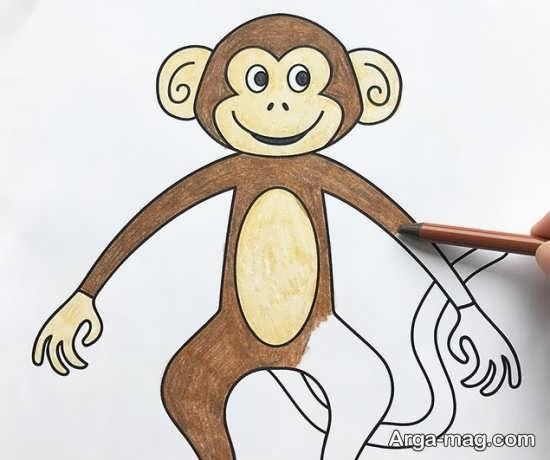 رنگ آمیزی خاص میمون