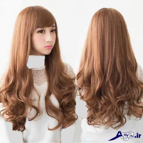 رنگ موی قهوه ای بسیار روشن