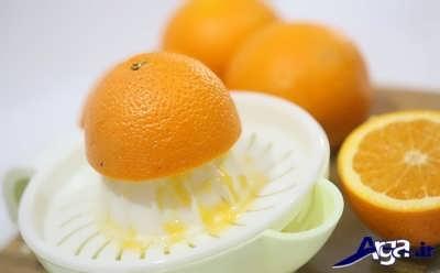 گرفتن آب گرتقال