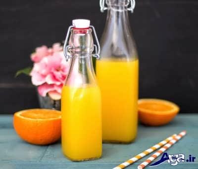 شربت پرتقال خوشرنگ
