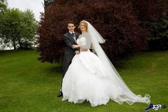 مدل عکس جدید عروس و داماد