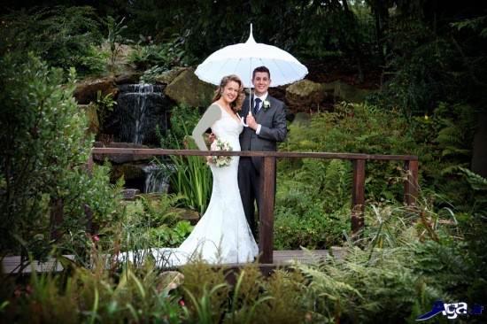 عکس عروس و داماد زیبا
