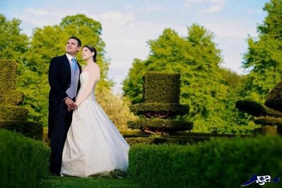عکاسی از عروس و داماد