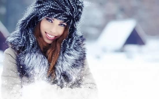 عکس پروفایل دخترانه برای زمستان