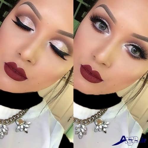 مدل آرایش صورت زنانه