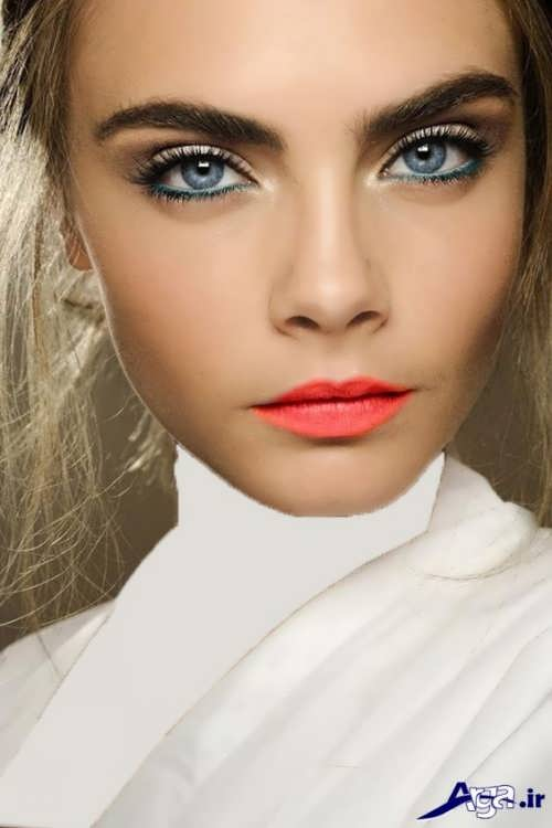 مدل آرایش لایت صورت