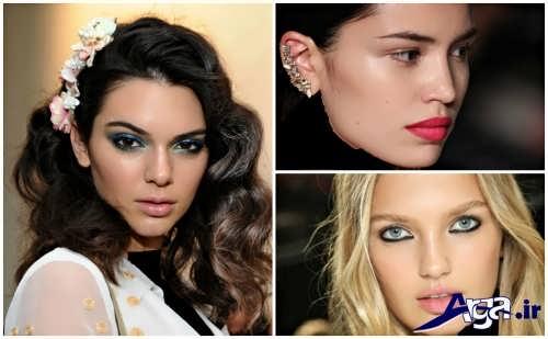 انواع مدل های میکاپ زنانه