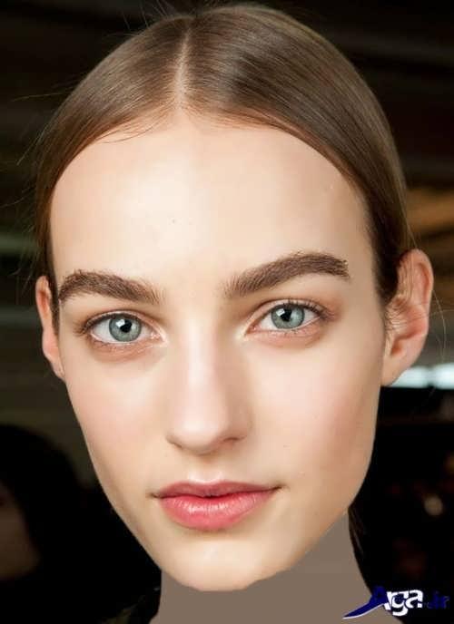 انواع مدل های آرایش صورت دخترانه