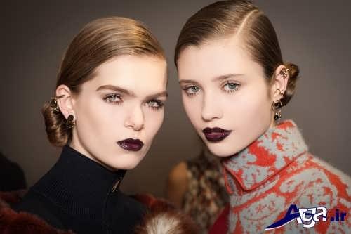 جدیدترین مدل های آرایش صورت دخترانه