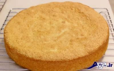 کیک اسفنجی خوش طعم