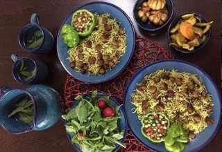 طرز تهیه کلم پلو شیرازی به همراه نکات طلایی