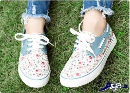 انواع مدل های کفش اسپرت دخترانه