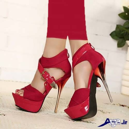 کفش پاشنه بلند مجلسی زیبا و شیک