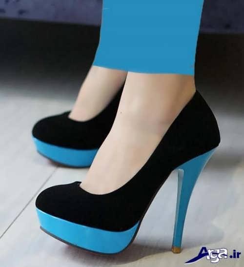 مدل کفش مخمل دخترانه