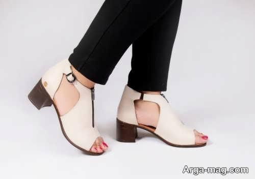 جدیدترین کفش پاشنه کوتاه