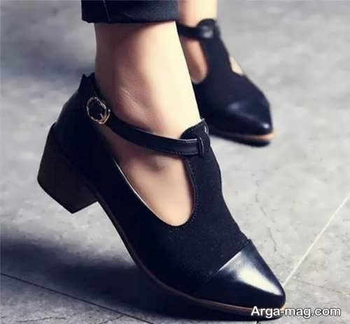 عالی ترین کفش پاشنه کوتاه
