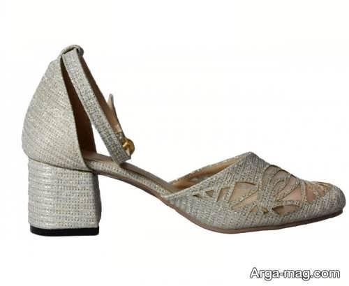 کفشهای پاشنه دار سفید