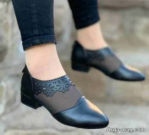 متفاوت ترین کفش پاشنه کوتاه