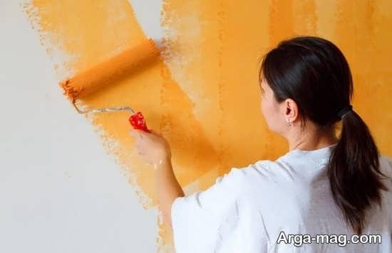 نکات رنگ آمیزی دیوار