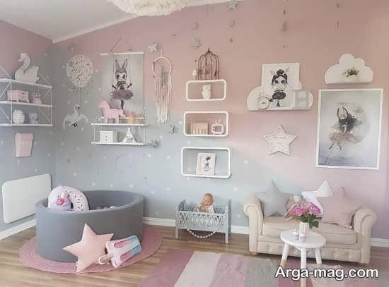 رنگ اتاق کودک و نوزاد