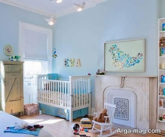 بهترین رنگ اتاق نوزاد