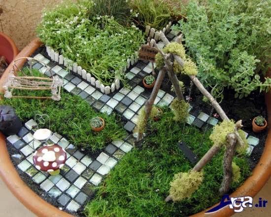 طراحی باغچه کوچک و کاربردی