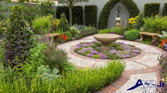 طراحی باغچه های شیک و جذاب