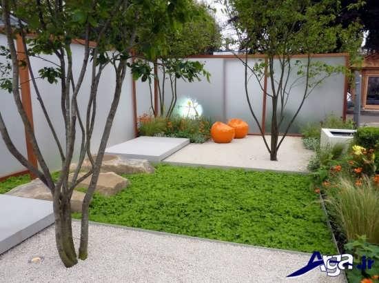 باغچه ساده حیاط