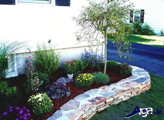طراحی باغچه حیاط کوچک