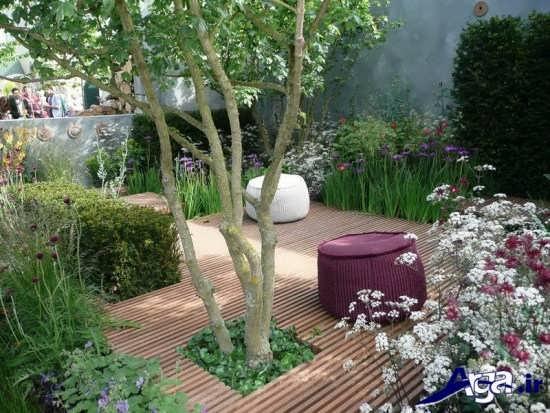ایده هایی برای طراحی باغچه