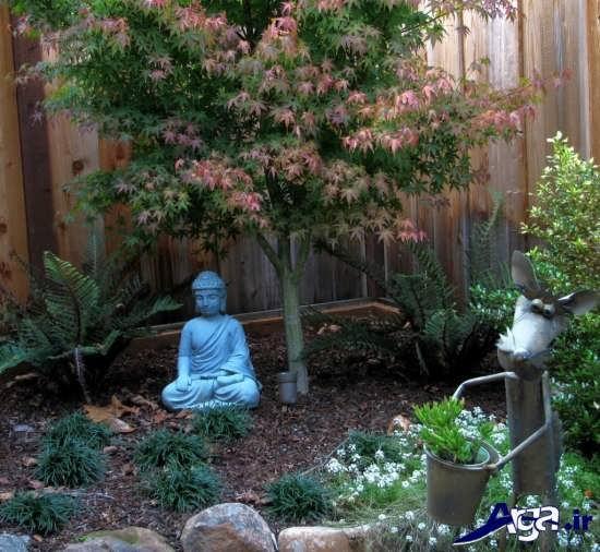 طراحی باغچه حیاط با کمک روش های خلاقانه