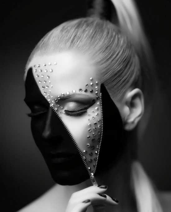 عکس دخترانه سیاه و سفید برای پروفایل