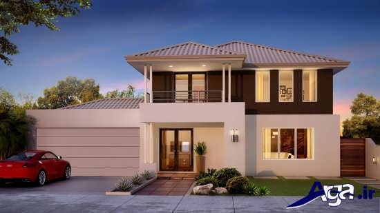 for Double storey beach house designs