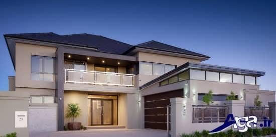 طراحی شیک و مدرن نمای ساختمان
