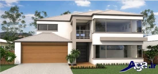 طراحی زیبا و متفاوت نمای ساختمان