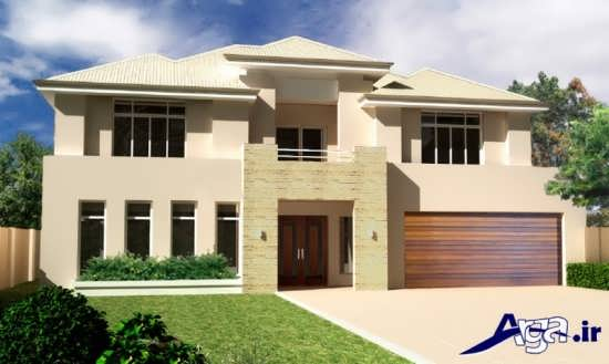 طراحی جدید برای ساختمان های دو طبقه