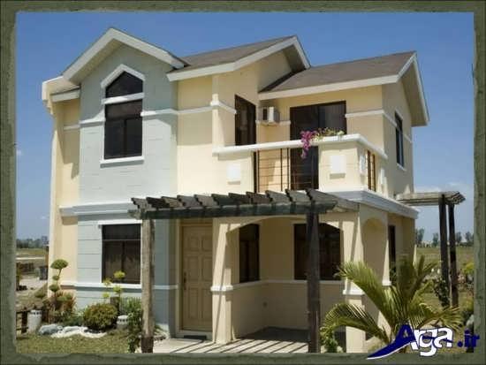 طراحی کلاسیک و مدرن نمای خارجی ساختمان