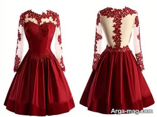 مدل لباس کوتاه دخترانه گیپور