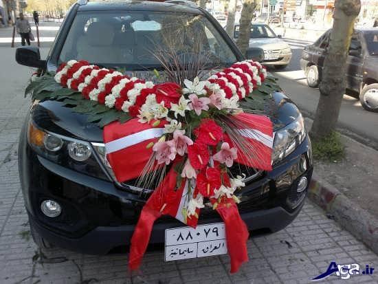 عکس ماشین عروس شاسی بلند