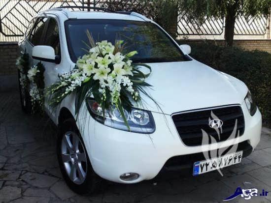 ماشین شاسی بلند عروس و داماد