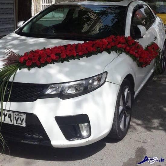 عکس ماشین عروس زیبای شاسی بلند