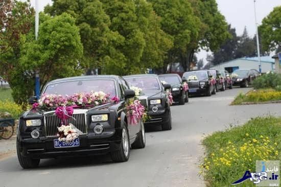 ماشین عروس های شاسی بلند